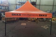 Foldable tent 2